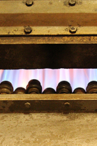 Image of the flames that cook the beans